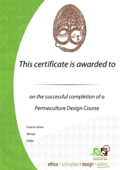Permaculture Association Design Course