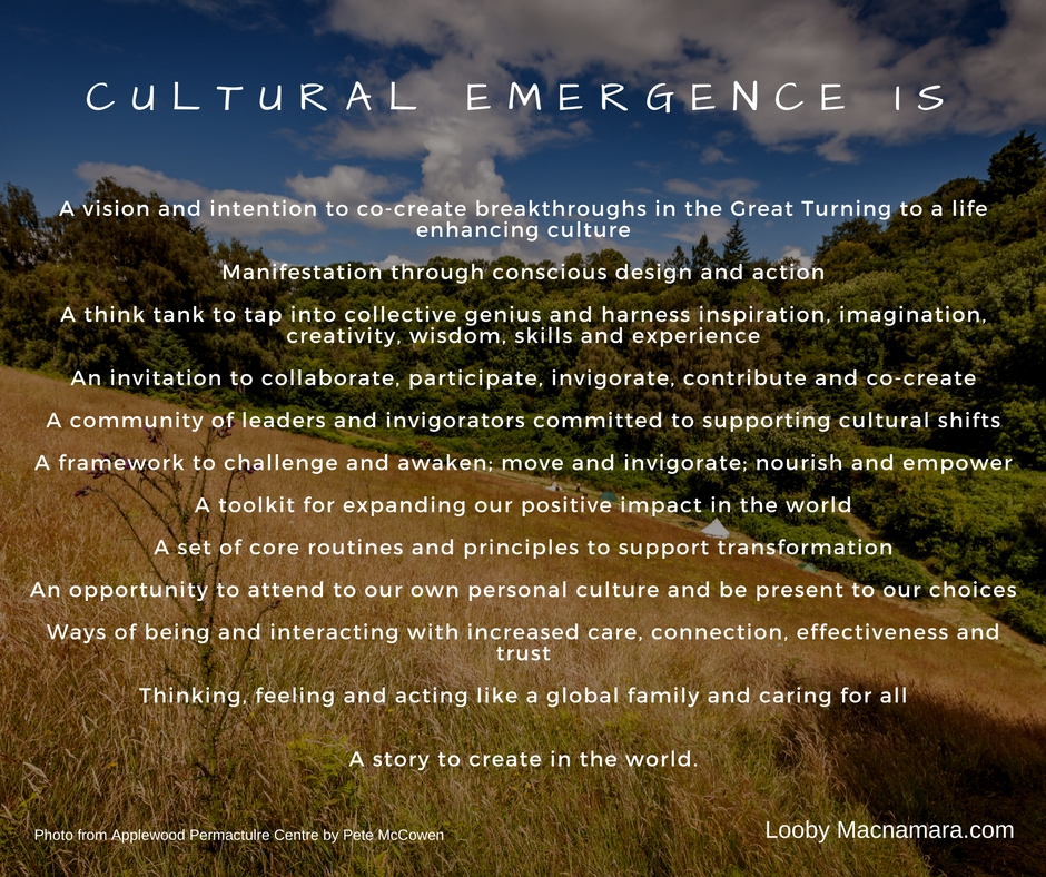 What is Cultural Emergence